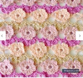 crochet flowers 2074